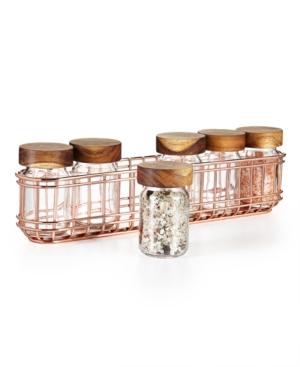 Martha Stewart Collection Copper Wire Spice Rack,