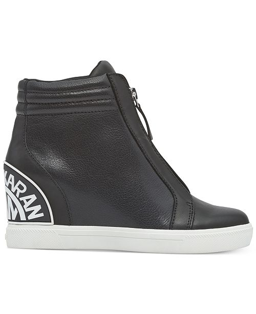 a30f1a57f76 ... DKNY Connie Slip-On Wedge Sneakers