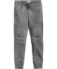 Epic Threads Moto Jogger Pants, Little Boys, Created for Macy's