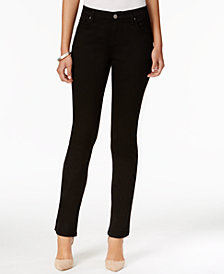 Lee Platinum Petite Nellie Barely Bootcut Jeans, A Macy's Exclusive