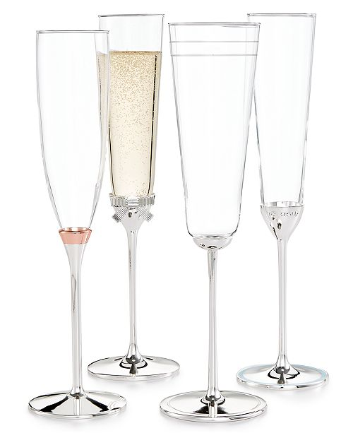 kate spade new york toasting flutes collection macy s