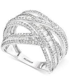EFFY® Diamond Multi-Band Weave-Style Ring (2 ct. t.w.)