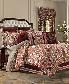 Rosewood Burgundy Bedding Collection