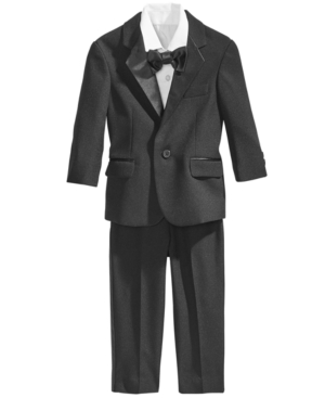 Vintage Style Children's Clothing: Girls, Boys, Baby, Toddler Nautica 4-Pc. Tuxedo Suit Set Baby Boys $80.00 AT vintagedancer.com