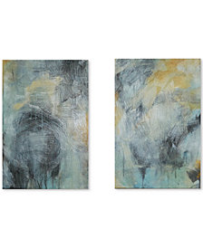 Madison Park Tranquility 2-Pc. Gel-Coated Canvas Print Set