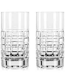 London Highball Glass Pair