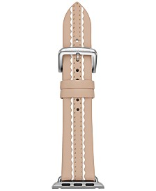 kate spade new york Women's Vachetta Leather Apple Watch® Strap 38mm