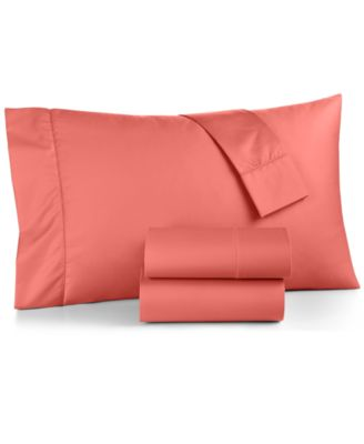 CLOSEOUT! Twin 3-Pc Sheet Set, 550 Thread Count 100% Supima Cotton, Created for Macy's