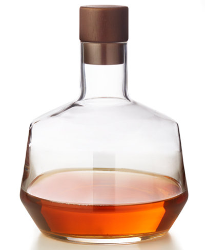 Hotel Collection Decanter with Wood Stopper, Created for Macy's
