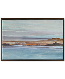 Madison Park Sea to Sky 1 Framed Hand-Embellished Canvas Print