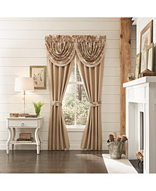 "Croscill Camille 48"" x 33"" Waterfall Swag Window Valance"