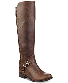 G By Guess Harson Wide Calf Tall Boots
