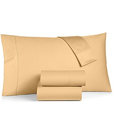 Extra Deep Pocket Queen 4-Pc Sheet Set, 550 Thread Count 100% Supima Cotton, Created for Macy's