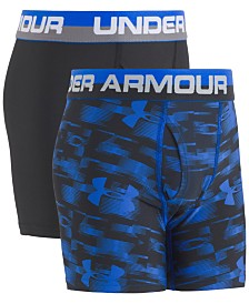 Under Armour Big Boys 2-Pk. Boxerjocks