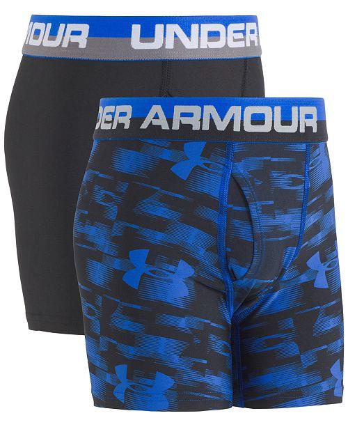 Under Armour Big Boys 2-Pk. Boxerjocks