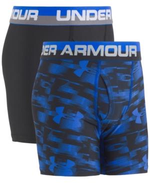 Under Armour 2Pk Boxer Briefs Big Boys