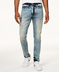 Sean John Men's Mercer Slim-Straight Stretch Jeans, Created for Macy's