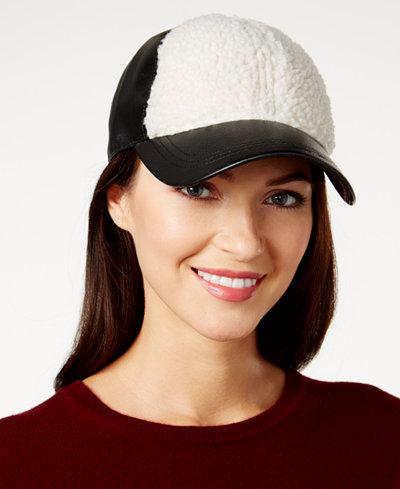 August Hats Fleece Baseball Cap