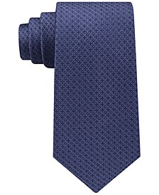 Men's Filetto Medallion Silk Tie