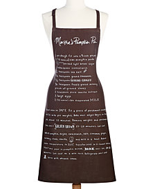 Martha Stewart Collection Cotton Eat More Pie Apron, Created at Macy's