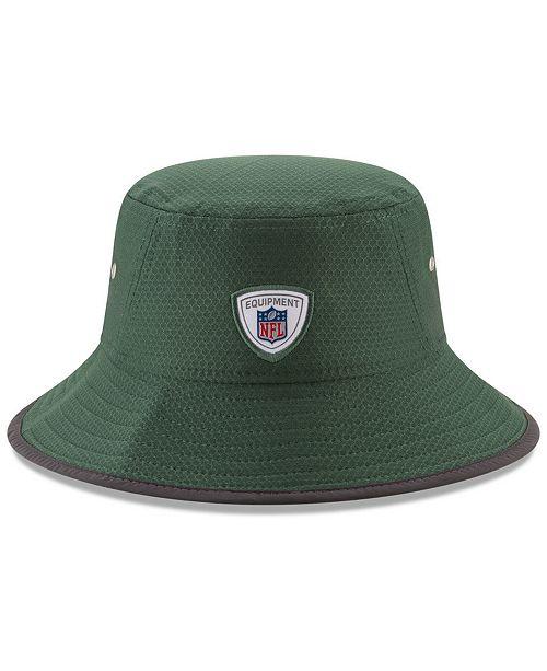 f0d275b7a New Era New York Jets Training Bucket Hat - Sports Fan Shop By Lids ...