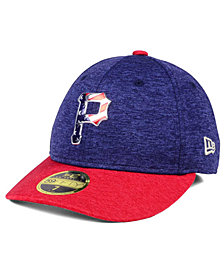 New Era Pittsburgh Pirates Low Profile Stars & Stripes 59FIFTY Cap