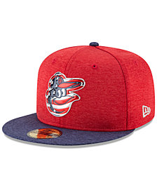 New Era Boys' Baltimore Orioles Stars & Stripes 59FIFTY Cap
