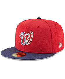 New Era Boys' Washington Nationals Stars & Stripes 59FIFTY Cap