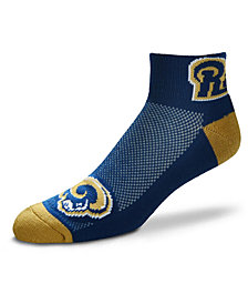 For Bare Feet Los Angeles Rams The Cuff Ankle Socks