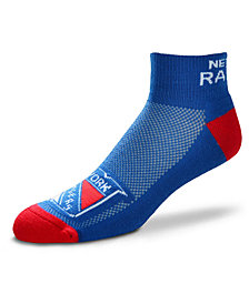 For Bare Feet New York Rangers The Cuff Ankle Socks