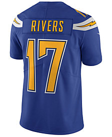 Nike Men's Phillip Rivers Los Angeles Chargers Limited Color Rush Jersey