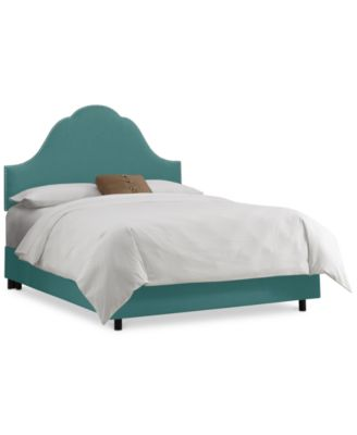Jenny Nail Button Bed - King