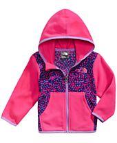 The North Face Glacier Dot-Print Zip Hoodie, Baby Girls (0-24 months)