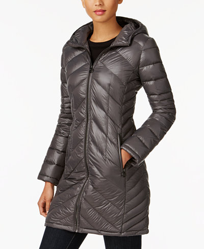 Michael Michael Kors Packable Down Puffer Coat Created For Macys