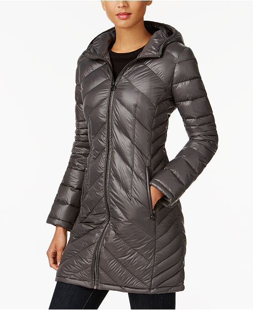 1d3528a7454a ... Michael Kors Packable Down Puffer Coat