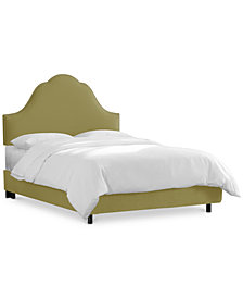 Jenny California King Nail Button Bed, Quick Ship