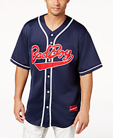 Bad Boy Men's Logo-Graphic Baseball Jersey