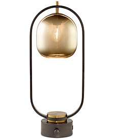 Pacific Coast Glass Dome Table Lamp