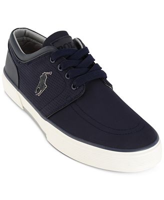 Ralph Lauren Faxon Perforated Sneaker
