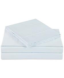 Ultra Cotton Sateen 610-Thread Count 4-Pc. Solid Queen Sheet Set