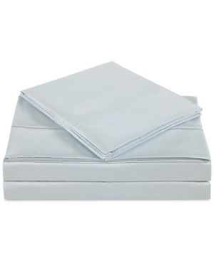 Charisma Classic Cotton Sateen 310 Thread Count 4Pc Solid King Sheet Set Bedding