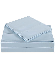 Charisma Classic Cotton Sateen 310 Thread Count 4-Pc. Solid King Sheet Set