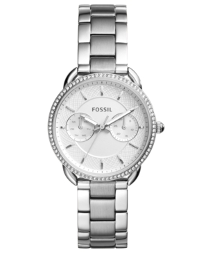 Fossil WOMEN'S TAILOR STAINLESS STEEL BRACELET WATCH 35MM