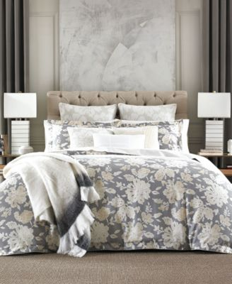 Broadmoor Cotton Reversible Floral Twin Duvet Cover Set
