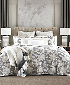 Broadmoor Reversible Floral Full/Queen Comforter Set