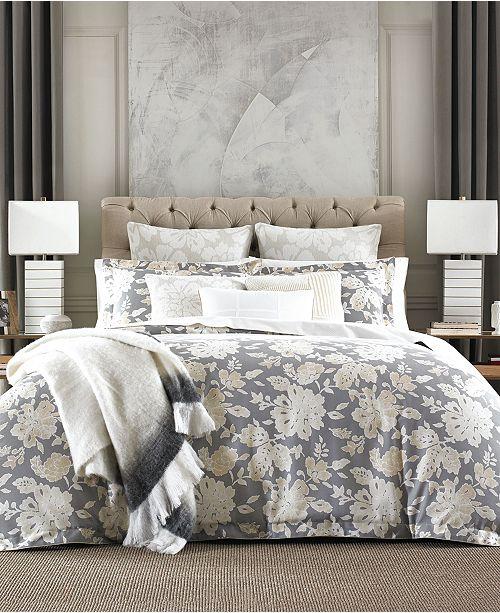 Tommy Hilfiger Broadmoor Cotton Reversible Floral Twin Duvet Cover Set
