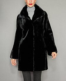 The Fur Vault Mink Fur Reversible Coat