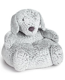 First Impressions Plush Dog Chair, Baby Boys & Girls, Created for Macy's