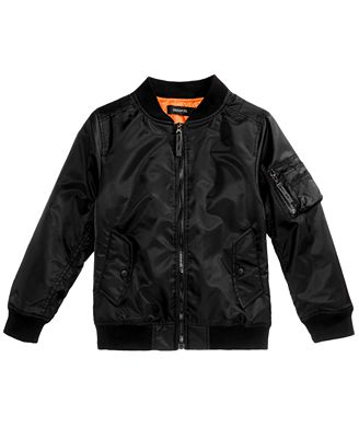 Ring of Fire Bomber Jacket, Big Boys (8-20), Created for Macy's ...