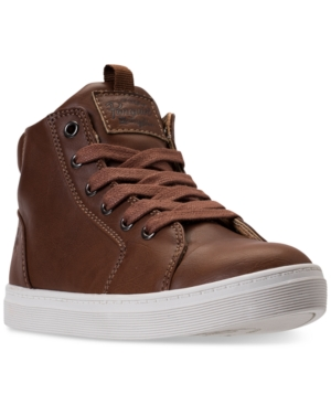 Original Penguin Little Boys Carson High Top Casual Sneakers from Finish Line